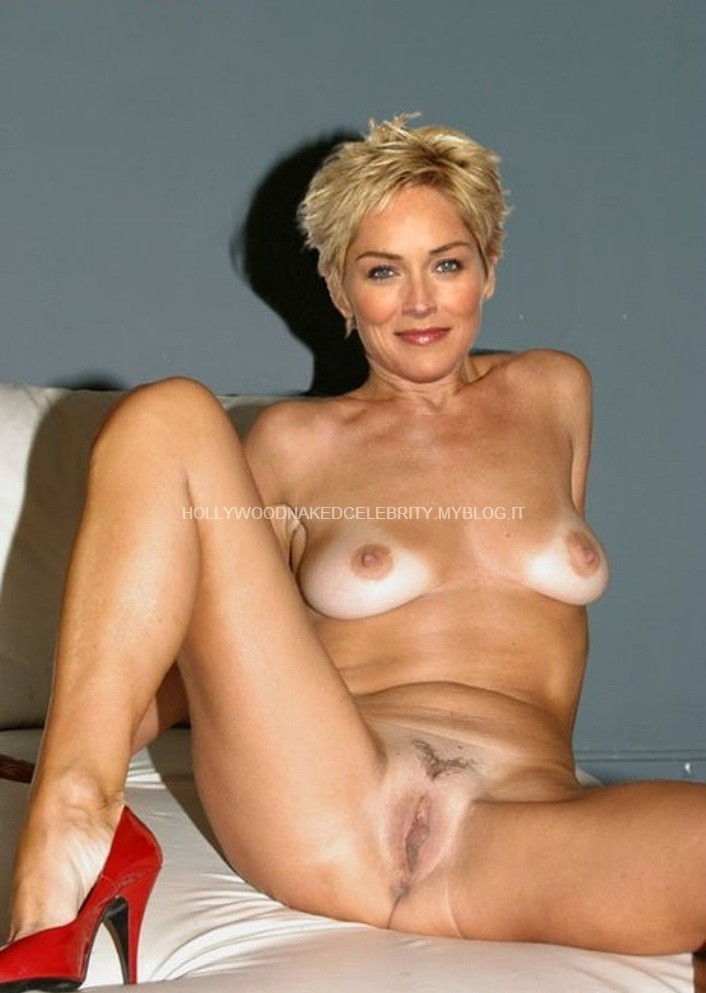 Hairy Blonde Mature